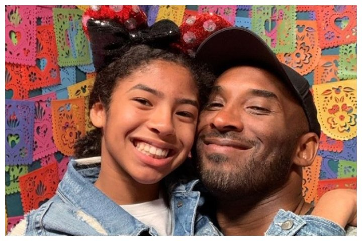 Kobe Bryant is shown with his 13-year-old daughter, Gianna.