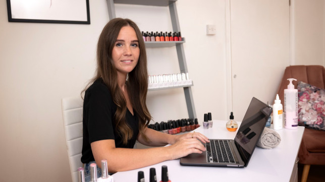 Having only started Beautique by Lauren in Beckenham, Bromley, in September 2018, the 32-year-old was worried about the impact multiple lockdowns would have on her client base.